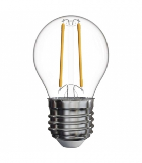 Żarówka LED Filament Mini Globe 2W E27 neutralna biel EMOS Z74246