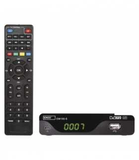 Odbiornik DVB-T2 EMOS EM190-S HD EMOS J6014