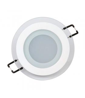 Oprawa dekoracyjna SMD LED CLARA-6 HL687LG WHITE 3000K IDEUS 02585
