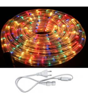 Wąż świetlny z akcesoriami LED ROPELIGHT SET 2 LINE MULTIKOLOR 10M IDEUS 03114