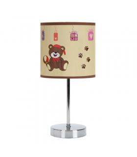 Lampka stołowa NUKA E14 BROWN IDEUS 03650