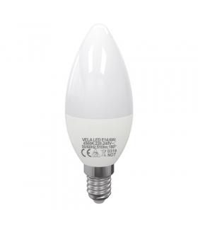 Lampa z diodami SMD LED VELA LED E14 6W 4500K IDEUS 03662