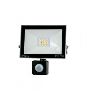 Naświetlacz SMD LED z czujnikiem ruchu KROMA LED S 20W GREY 6500K IDEUS 03705