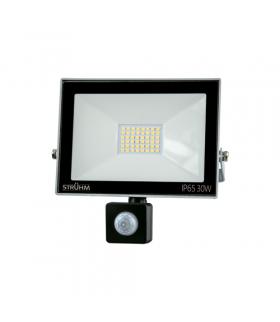 Naświetlacz SMD LED z czujnikiem ruchu KROMA LED S 30W GREY 6500K IDEUS 03706