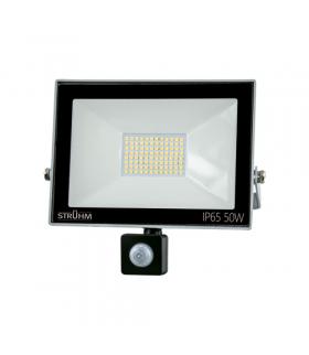 Naświetlacz SMD LED z czujnikiem ruchu KROMA LED S 50W GREY 6500K IDEUS 03707