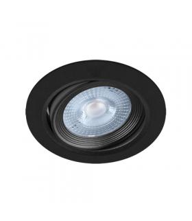 Sufitowa oprawa punktowa SMD LED MONI LED C 5W 3000K BLACK IDEUS 03709