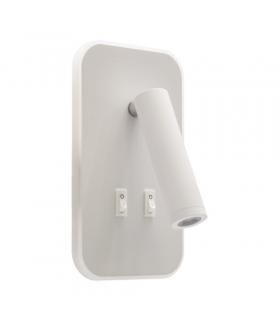Oprawa kinkiet SMD LED OTELLO LED D 6W+3W WHITE IDEUS 03723