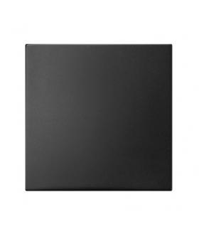 ARIA K-1U/33 Klawisz łącznika jednobiegunowego Czarny metalik