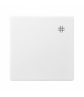 ARIA K-4U/00 Klawisz łącznika krzyżowego Biały