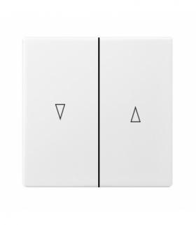 ARIA K-7U/00 Klawisz łącznika żaluzjowego Biały