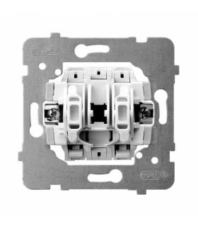 ARIA M1ŁP-1/B Mechanizm łącznika jednobiegunowego Biały