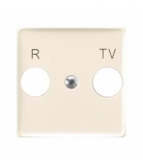 ARIA PGPA-UK/27 Pokrywa gniazda RTV końcowego Ecru