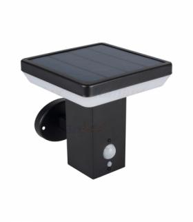 Oprawa ogrodowa solarna LED KINKIET Z CZUJNIKIEM SOLCA L 4000K Kanlux 25774