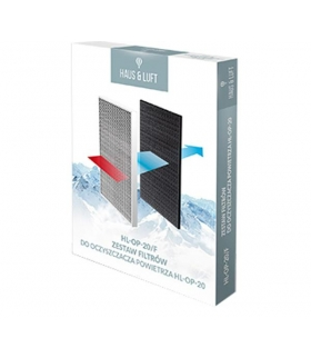 Zestaw filtrów powietrza do oczyszczacza HL-OP-20