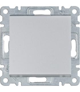 lumina Łącznik 1-biegunowy, srebrny Hager WL0012
