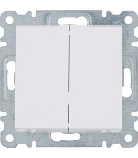 lumina Łącznik schodowy podwójny, biały Hager WL0050
