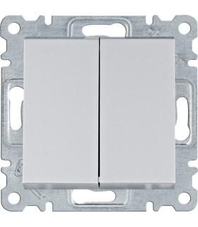 lumina Łącznik schodowy podwójny, srebrny Hager WL0052