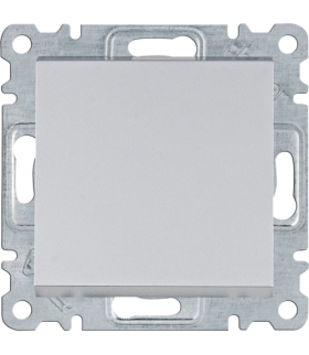 lumina Łącznik 2-biegunowy, srebrny Hager WL0062