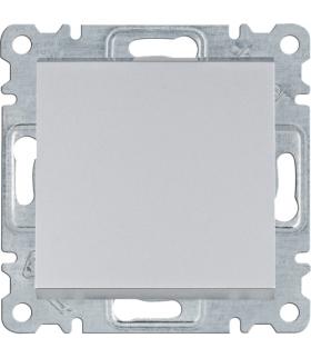 lumina Łącznik zwierny 1-biegunowy, srebrny Hager WL0112