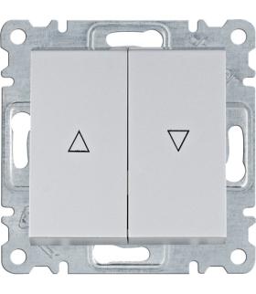 lumina Łącznik żaluzjowy bistabilny, srebrny Hager WL0312