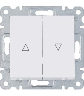 lumina Łącznik żaluzjowy monostabilny (zwierny), biały Hager WL0320