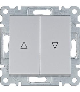 lumina Łącznik żaluzjowy monostabilny (zwierny), srebrny Hager WL0322