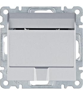 lumina Łącznik na kartę hotelową, srebrny Hager WL0512