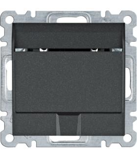 lumina Łącznik na kartę hotelową, czarny Hager WL0513