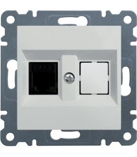 lumina Gniazdo telefoniczne pojedyncze RJ11, biały Hager WL2010
