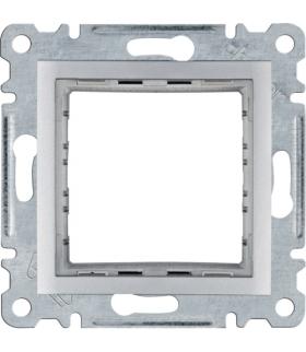 lumina Zestaw montażowy do modułów 45 x 45 mm systo, srebrny Hager WL2512
