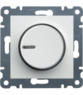 lumina Ściemniacz obrotowy 60-600W, biały Hager WL4010