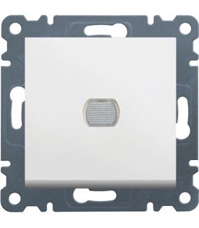 lumina Ściemniacz przyciskowy 60-300W, biały Hager WL4030