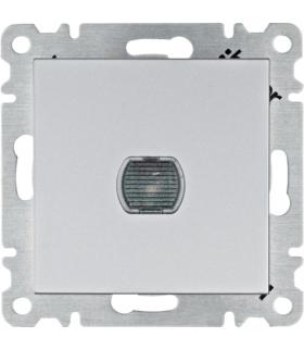 lumina Ściemniacz przyciskowy 60-300W, srebrny Hager WL4032