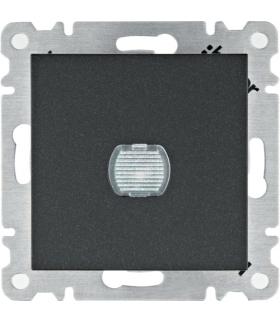 lumina Ściemniacz przyciskowy 60-300W, czarny Hager WL4033