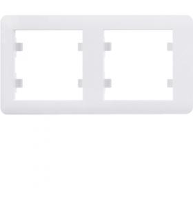 lumina soul Ramka 2-krotna pozioma, biały Hager WL5220