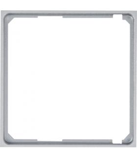 lumina Pierścień adaptacyjny do płytek czołowych 50x50, srebrny Hager WL5312