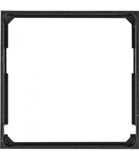 lumina Pierścień adaptacyjny do płytek czołowych 50x50, czarny Hager WL5313