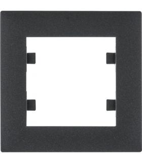 lumina intense Ramka 1-krotna, czarny Hager WL5513
