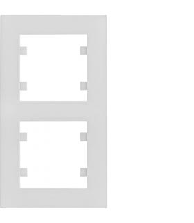 lumina intense Ramka 2-krotna pionowa, biały Hager WL5620