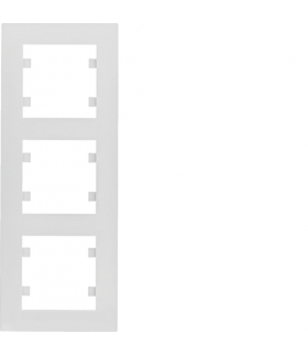 lumina intense Ramka 3-krotna pionowa, biały Hager WL5630