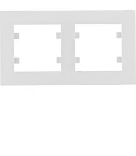 lumina intense Ramka 2-krotna pozioma, biały Hager WL5720