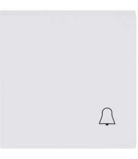 """lumina Klawisz z symbolem """"Dzwonek"""", biały Hager WL6010"""