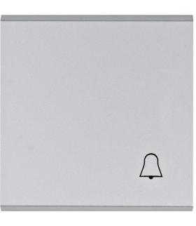 """lumina Klawisz z symbolem """"Dzwonek"""", srebrny Hager WL6012"""