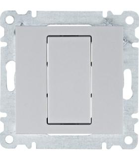 lumina Płytka zaślepiająca, srebrny Hager WL7012