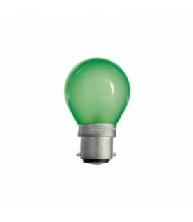 KULISTA B-22D 230V/15W GREEN SPECTRUM WOJ+10957