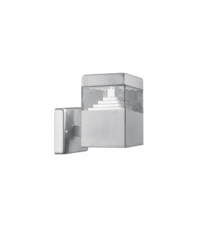 Oprawa ogrodowa LED GARDINO-A, 7W, 480lm, AC220-240V, 50/60Hz, IP54, neutralny biały, kinkiet prost