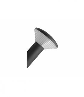 Oprawa ogrodowa LED ORBIT-U, 7W, 500lm, AC220-240V, 50/60Hz, IP54, ciepły biały, kinkiet ukośny, cz