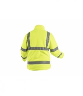 ALAND bluza polarowa ostrzegawcza żółty M