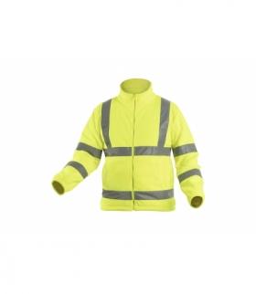 ALAND bluza polarowa ostrzegawcza żółty S