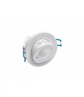 Czujnik mikrofalowy ruchu CM-15, AC220-240V,50/60Hz,360°,IP20,współpracuje z LED,wpuszczany,biały
